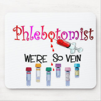 Phlebotomist gifts mouse pad