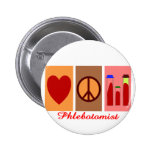 Phlebotomist Gifts Pins