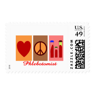 Phlebotomist Gifts Postage Stamps