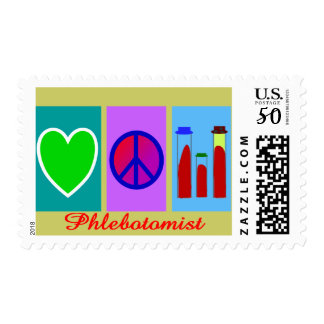 Phlebotomist Gifts Postage