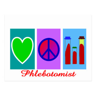 Phlebotomist Gifts Postcard