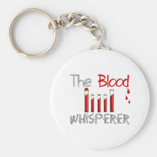 "Phlebotomist Gifts ""The Blood Whisperer"" Keychain"