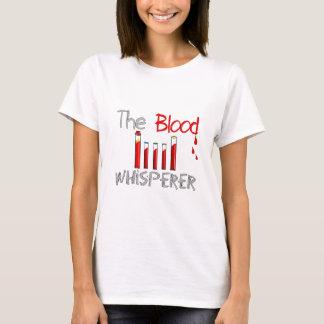 "Phlebotomist Gifts ""The Blood Whisperer"" T-Shirt"