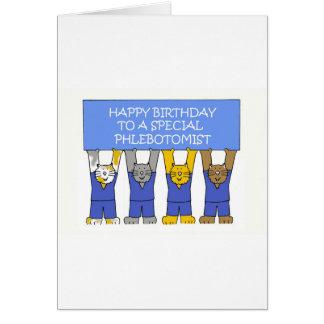 Phlebotomist Happy Birthday Card