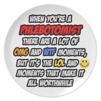 Phlebotomist .. OMG WTF LOL Plate