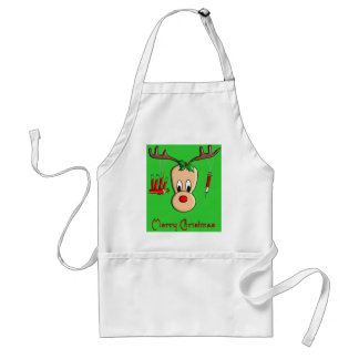 Phlebotomist Reindeer Christmas Gifts Adult Apron