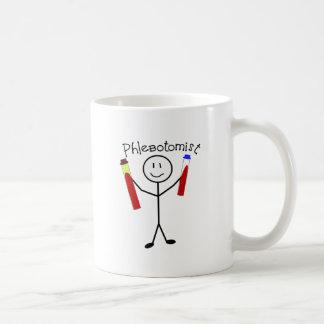 Phlebotomist Stick Person Classic White Coffee Mug