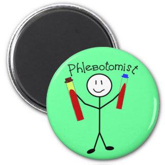 Phlebotomist Stick Person Magnet
