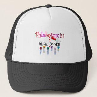 """Phlebotomist """"We're So Vein"""" T-Shirts Trucker Hat"""