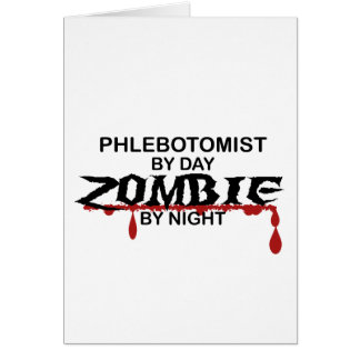 Phlebotomist Zombie Card