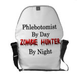 Phlebotomist/Zombie Hunter Courier Bag