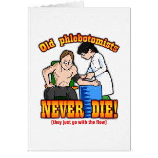 Phlebotomists Card
