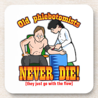 Phlebotomists Drink Coasters