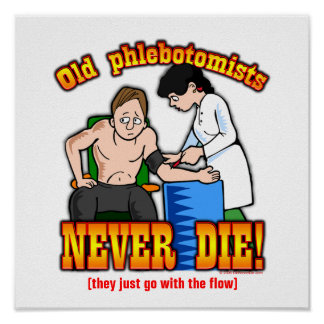 Phlebotomists Posters