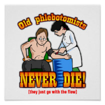 Phlebotomists Print