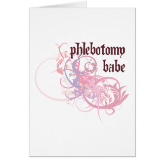 Phlebotomy Babe Card