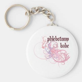 Phlebotomy Babe Key Chains