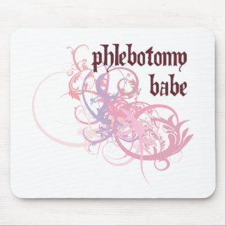 Phlebotomy Babe Mouse Pad