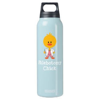 Phlebotomy Chick Insulated Water Bottle