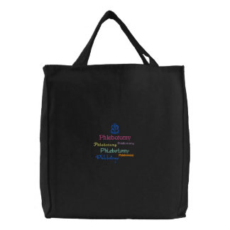 Phlebotomy Embroidery Bag