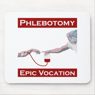Phlebotomy, Epic Vocation Mouse Pad