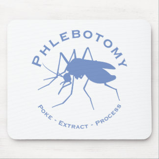 Phlebotomy - Poke - Extract - Process Mouse Pad