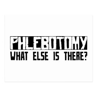 Phlebotomy What Else Is There? Postcard