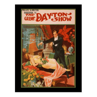 Phllips Climation The Great Dayton Show Postcard