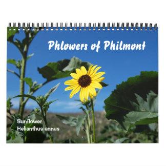 Phlowers de Philmont Calendarios