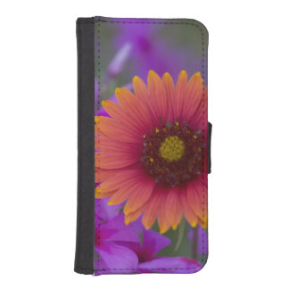 Phlox and Indian Blanket near Devine Texas Wallet Phone Case For iPhone SE/5/5s