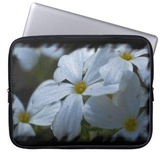Phlox Black Edge Laptop Sleeve
