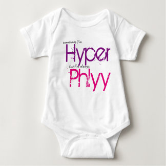 Phlyy Baby (pink) Baby Bodysuit