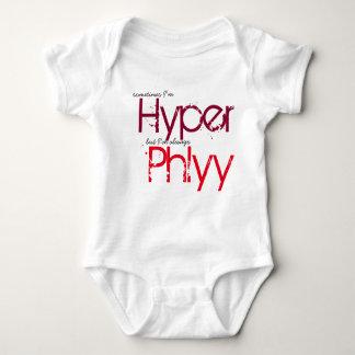 Phlyy Baby (red) Baby Bodysuit