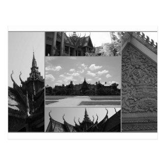 Phnom Penh, Cambodia Postcard