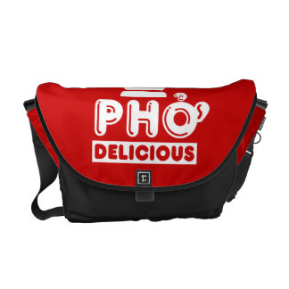 Pho King Delicious Courier Bag