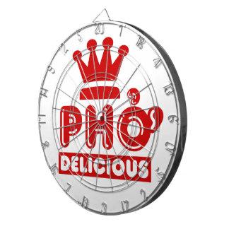 Pho King Delicious Dartboard With Darts