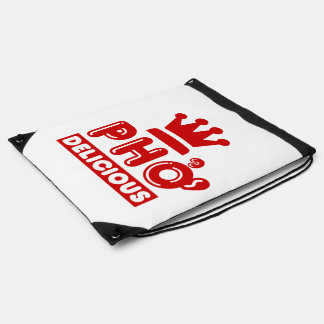 Pho King Delicious Drawstring Bag