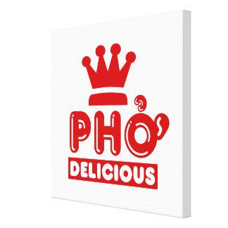 Pho King Delicious Gallery Wrap Canvas