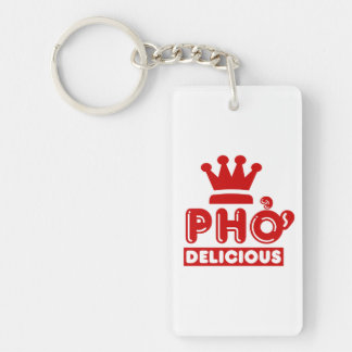Pho King Delicious Keychain