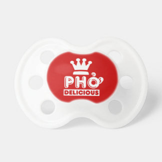 Pho King Delicious Baby Pacifiers