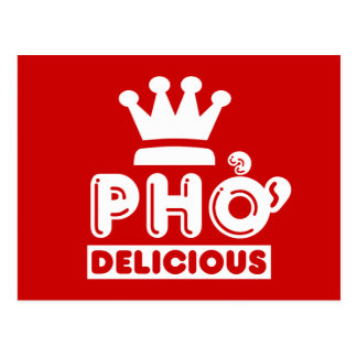 Pho King Delicious Postcard