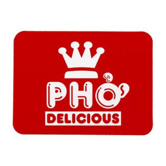 Pho King Delicious Rectangular Photo Magnet