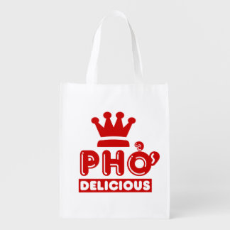 Pho King Delicious Reusable Grocery Bag