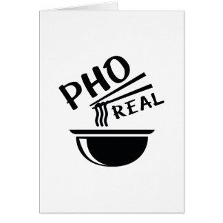 Pho Real Card