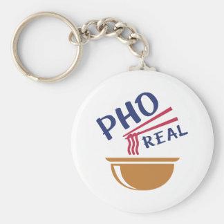 Pho Real Keychain