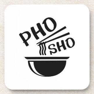 Pho Sho Beverage Coaster