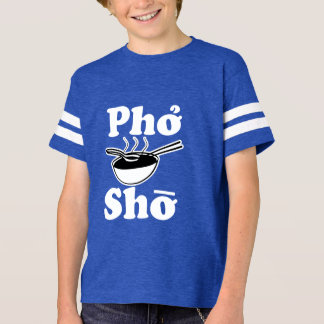 Pho Sho funny kids boy shirt