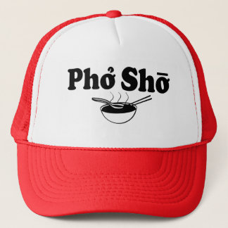 Pho Sho funny saying foodie hat
