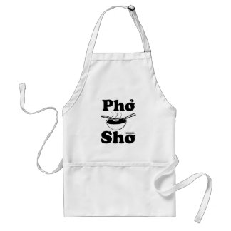 Pho Sho funny vietnamese soup saying Adult Apron