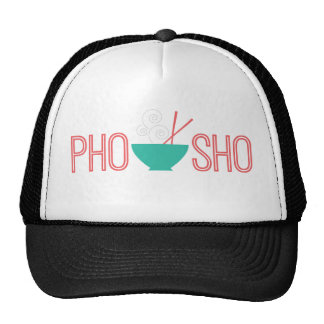 Pho Sho Vietnamese noodle soup Mesh Hats